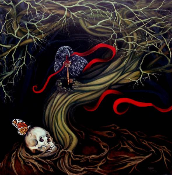 Wall Art - Painting - The Keeper by Lorraine Davis Martin
