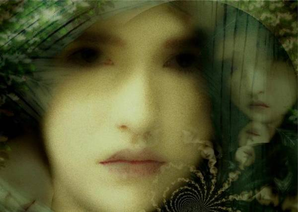 Complexity Digital Art - The Many Faces Of Eve by Gun Legler