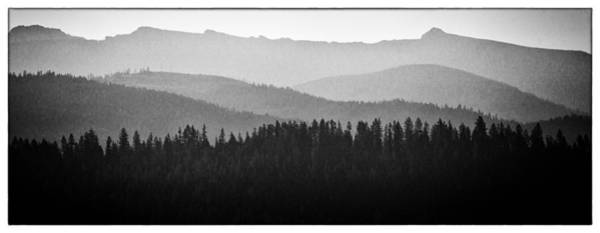 Wall Art - Photograph - The Mountains Near Priest Lake In Idaho by David Patterson
