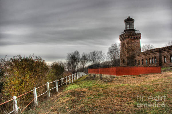 Wall Art - Photograph - The Navesink Twin Lights  by Lee Dos Santos