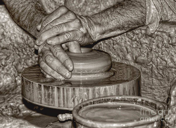 Photograph - The Potter 2 by Joann Vitali