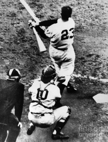 Brooklyn Dodgers Photograph - Thomson Home Run, 1951 by Granger