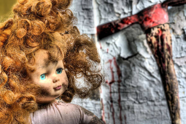 Doll Parts Photograph - Till Death Do Us Part by JC Findley