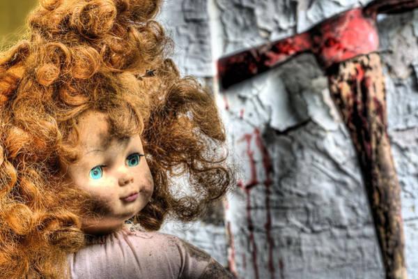Chucky Wall Art - Photograph - Till Death Do Us Part by JC Findley