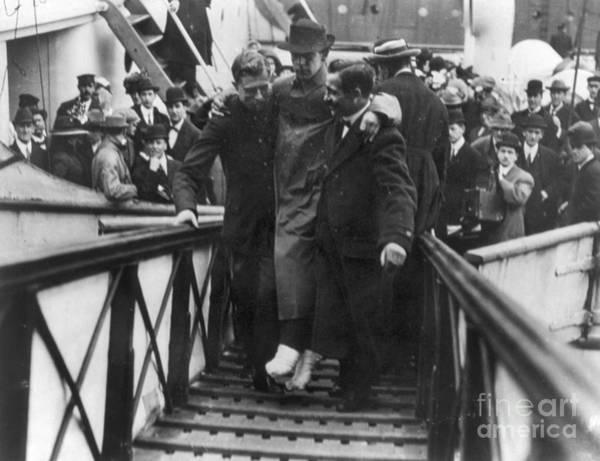 Photograph - Titanic: Survivor, 1912 by Granger