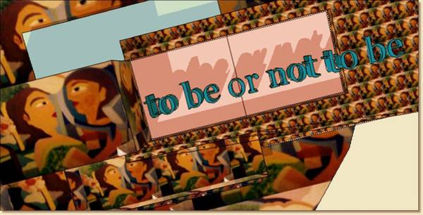 Painting - To Be Or Not To Be by Ana Johnson