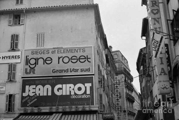 Photograph - Toulon Spring 1981 by Thomas R Fletcher