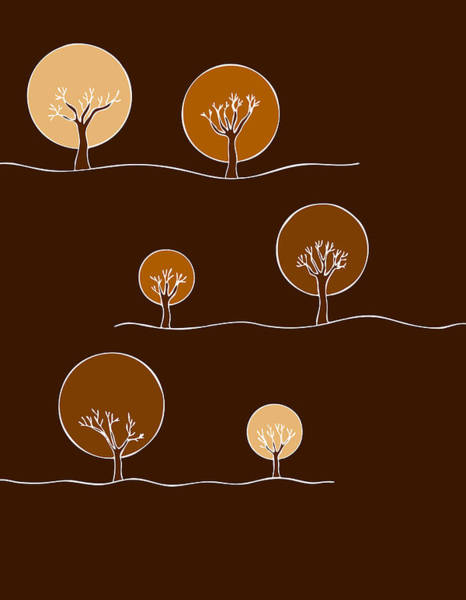 Wall Art - Painting - Trees by Frank Tschakert
