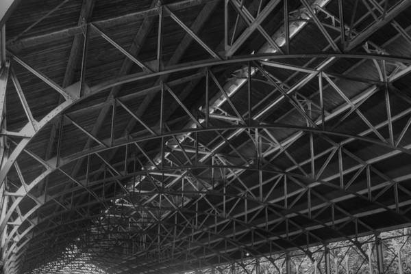 Photograph - Trussed Roof by Dennis Dame
