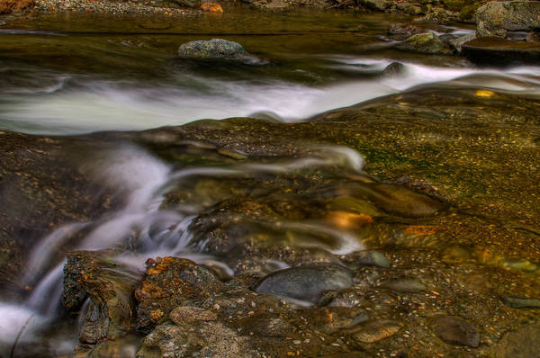 Smugglers Notch Photograph - Upper Jefferson Falls by Mike Horvath