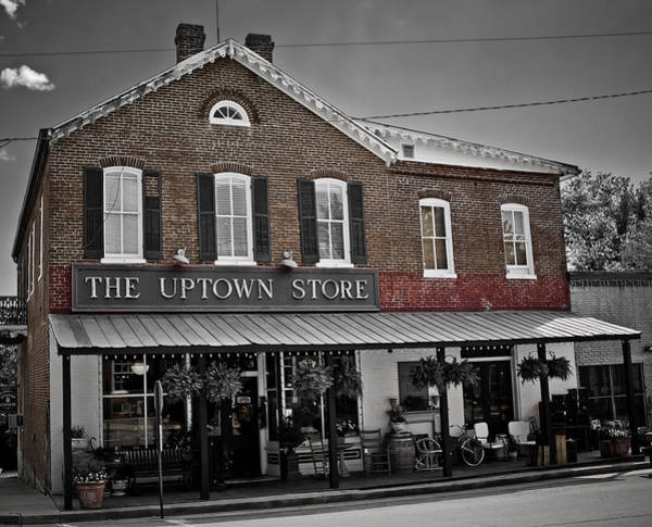 Photograph - Uptown Store-augusta Mo by David Coblitz