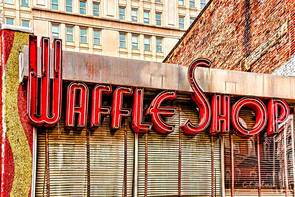 Photograph - Waffle Shop by Christopher Holmes