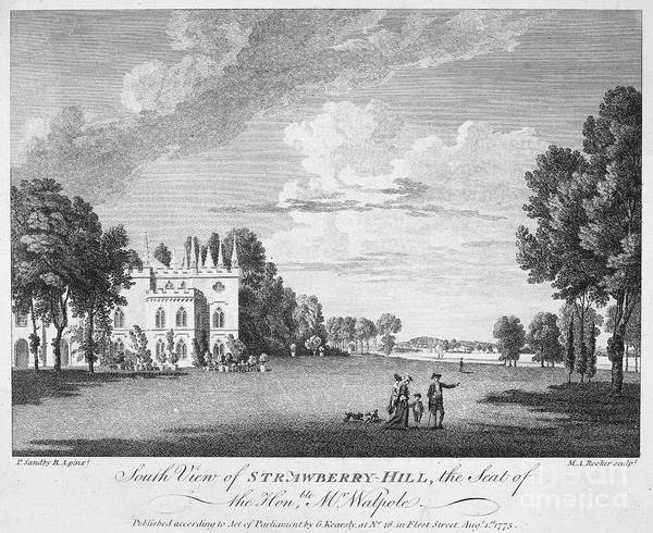 Strawberry Hills Wall Art - Photograph - Walpole Home, 1775 by Granger