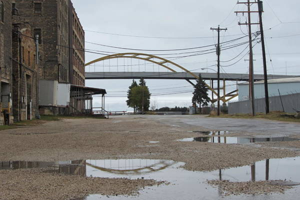 Photograph - Warehouse And Hoan 2 by Anita Burgermeister