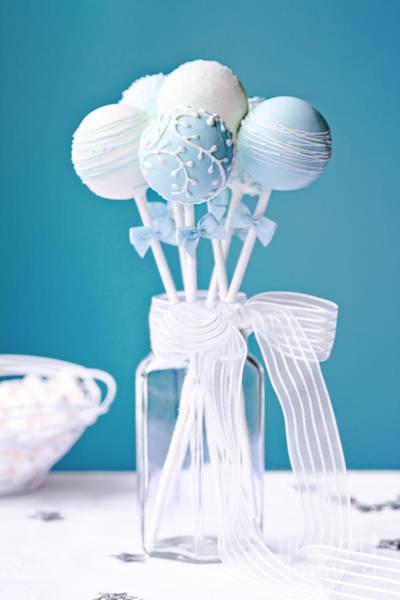 Wedding Cake Photograph - Wedding Cake Pops by Ruth Black