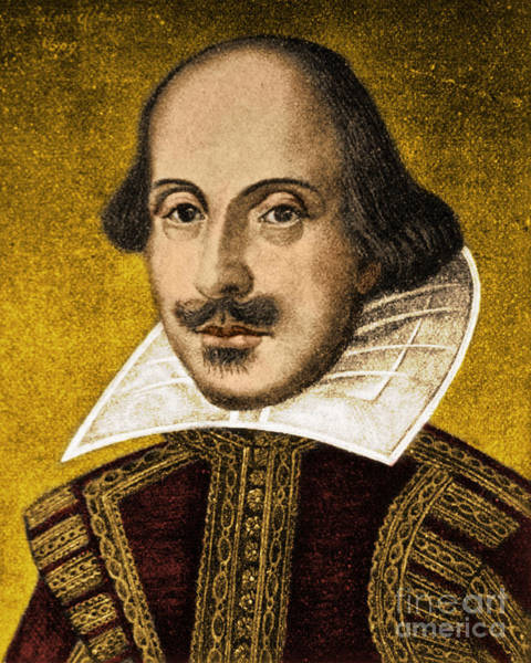 Photograph - William Shakespeare by Science Source