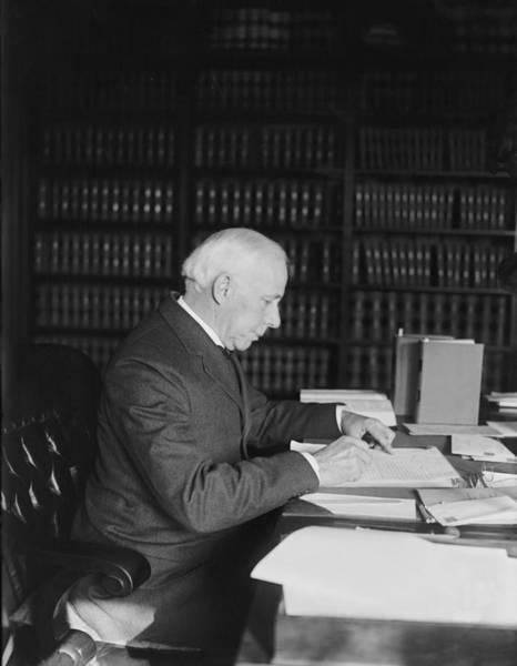 Drafting Photograph - Willis Van Devanter 1859-1941 by Everett