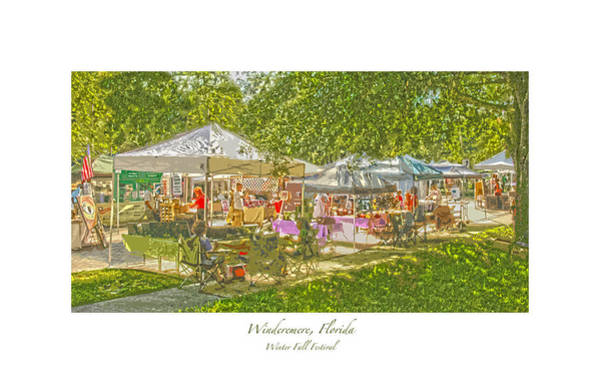 Photograph - Windermere Fall Festival by Pete Rems