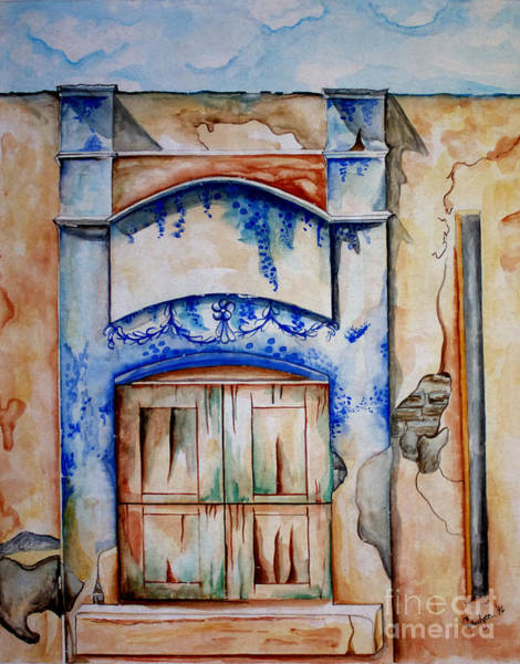 Painting - Window From Santiago by Kandyce Waltensperger