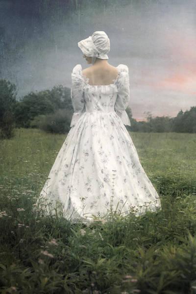 Jane Austen Wall Art - Photograph - Woman With Bonnet by Joana Kruse