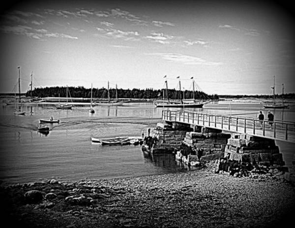 Photograph - Wooden Boat Cove by Doug Mills