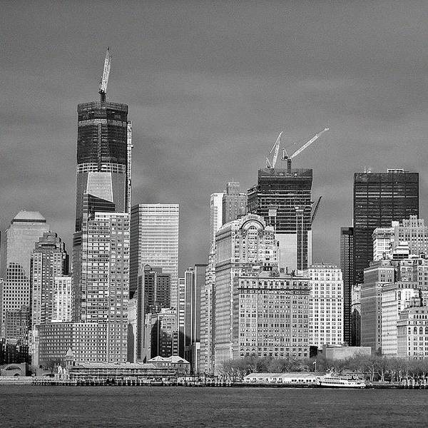 Ancient Photograph - Wtc - New York by Joel Lopez