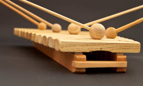 Bang Photograph - Xylophone by Tom Gowanlock