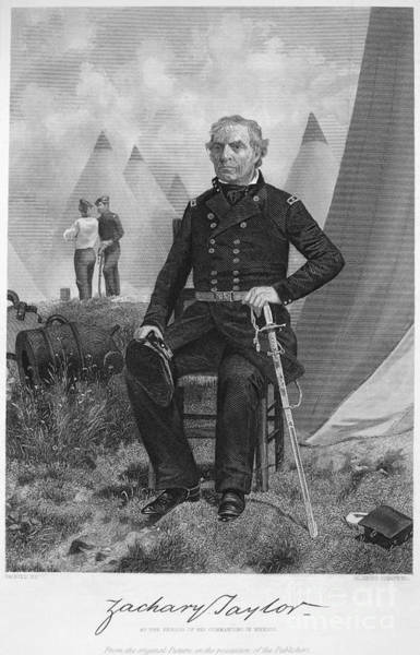 Whig Photograph - Zachary Taylor (1784-1850) by Granger