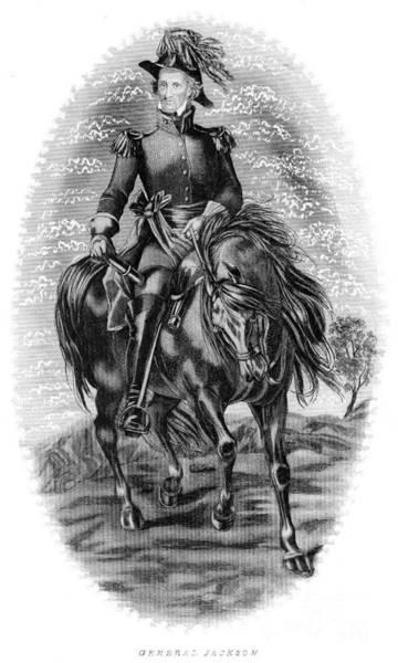 Epaulette Photograph - Andrew Jackson (1767-1845) by Granger
