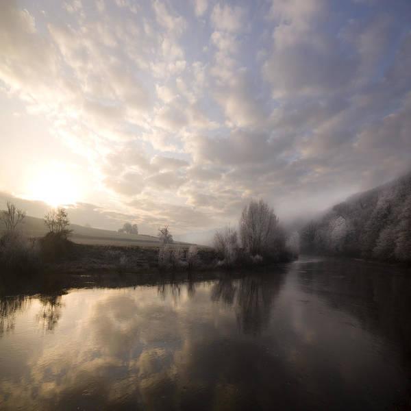 Wall Art - Photograph - Misty Sunrise by Angel Ciesniarska