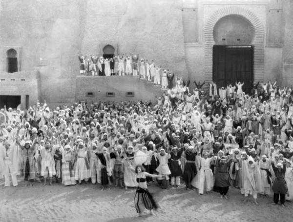 Belly Dancers Photograph - Silent Film Still: Crowds by Granger