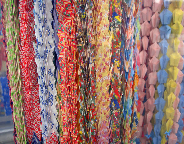 Photograph - 1000 Paper Cranes by Roberto Alamino