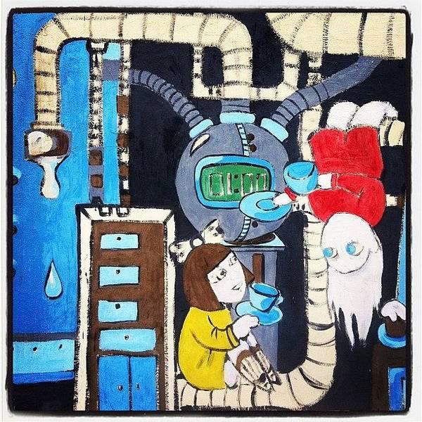 Comics Wall Art - Photograph - Instagram Photo by Alexandr Abramov