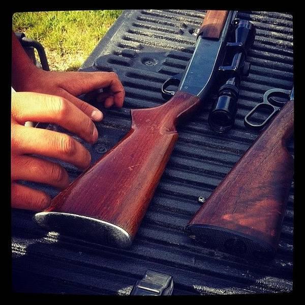 Rifles Photograph - 12 Gauge .308 Remington 30-30 by Sam Sana