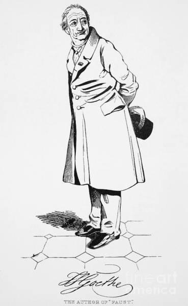 Photograph - Johann Goethe (1749-1832) by Granger