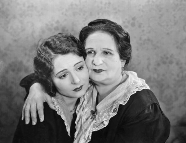 Consolation Wall Art - Photograph - Silent Film Still: Women by Granger