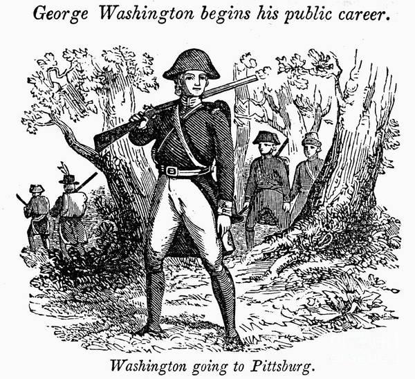 1755 Photograph - George Washington by Granger
