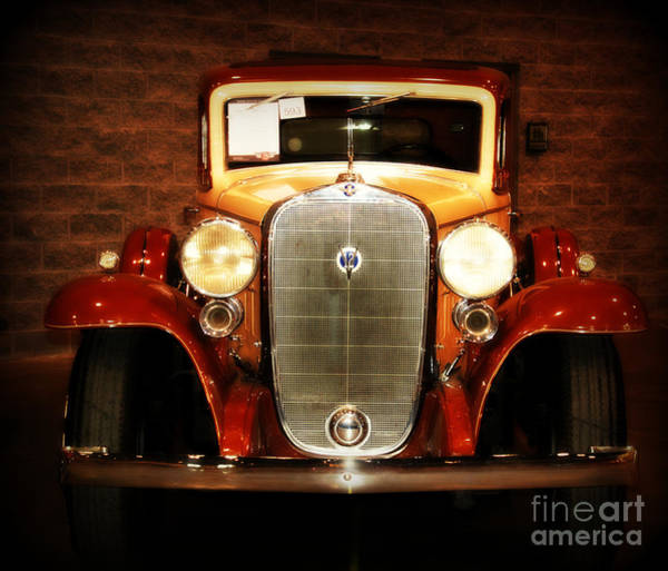 Wall Art - Photograph - 12v Collector Car by Susanne Van Hulst
