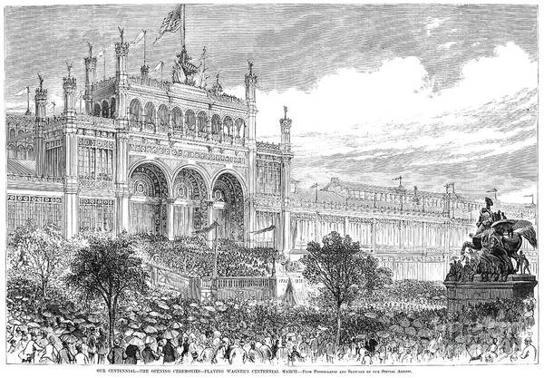 Fair Ground Photograph - Centennial Fair, 1876 by Granger