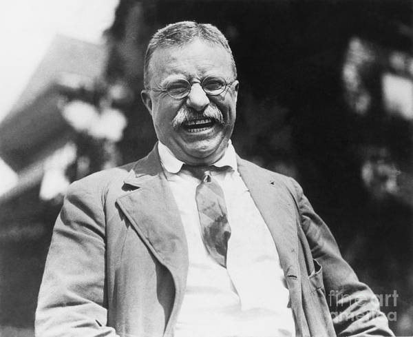 Sagamore Wall Art - Photograph - Theodore Roosevelt by Granger