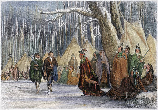 Royal Colony Photograph - George Washington by Granger