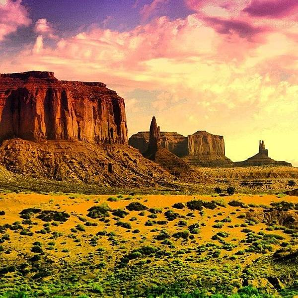Cool Wall Art - Photograph - Monument Valley by Luisa Azzolini