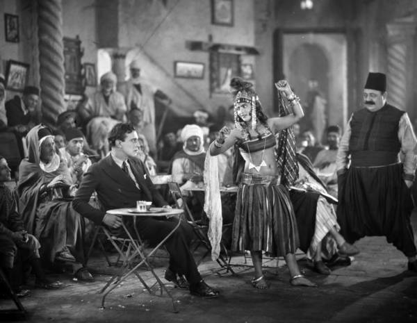 Belly Dancers Photograph - Silent Film Still: Dancing by Granger