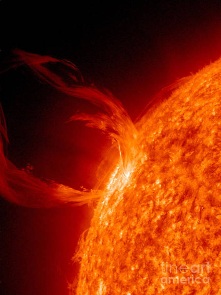 Photograph - Solar Prominence by Science Source