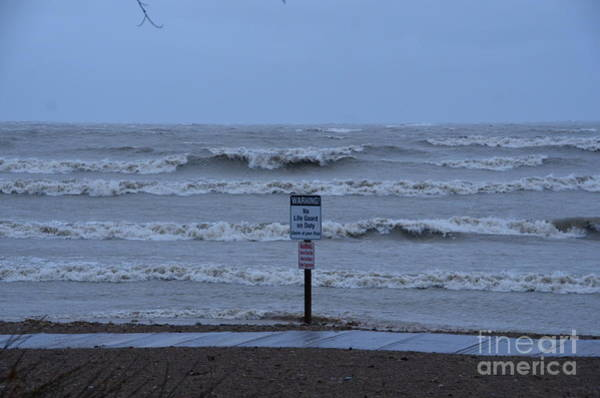 Photograph - Hurricane Sandy by Randy J Heath