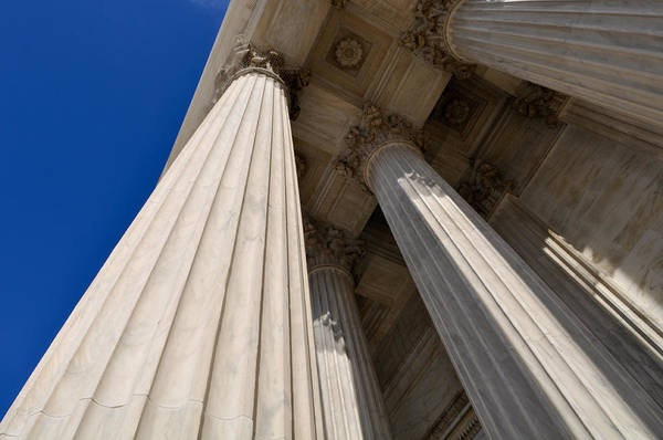 Photograph - Pillars Of Law And Justice by Brandon Bourdages
