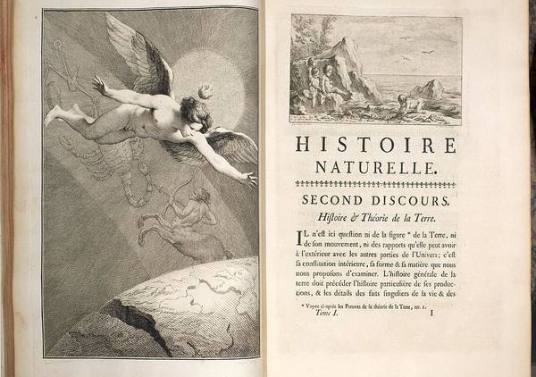 Creationist Wall Art - Photograph - 1749 Buffon Angel Creation Of The Earth by Paul D Stewart