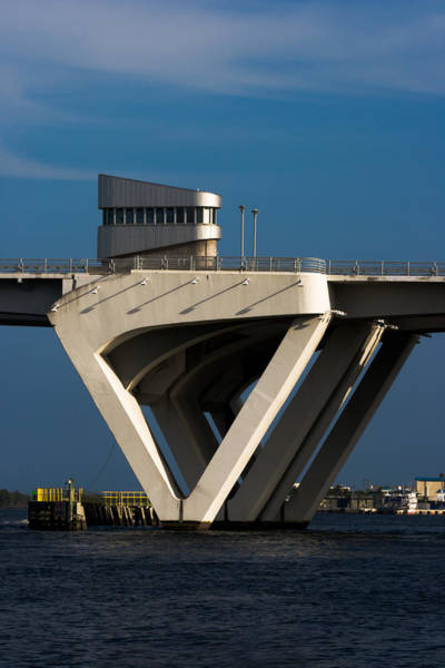 Photograph - 17th Street Drawbridge In Ft Lauderdale by Ed Gleichman