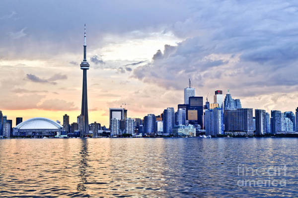 Wall Art - Photograph - Toronto Skyline by Elena Elisseeva