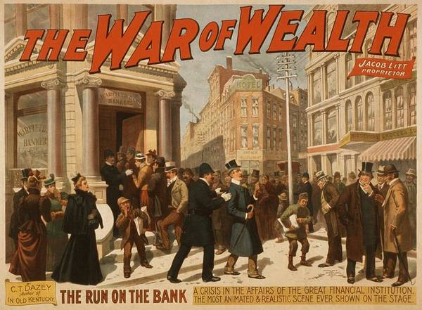 Business Cycles Wall Art - Photograph - 1895 Theater Poster Showing A Run by Everett
